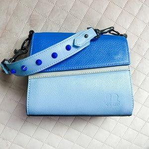 🆕Blue Micro Colorblock Bag